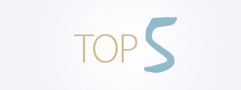 top 5 iluprotseduurid