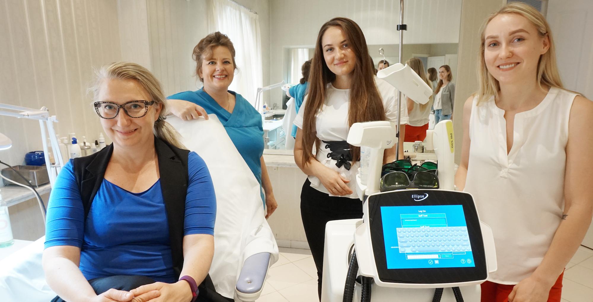 Uus IPL laserravi aparaat Medemises